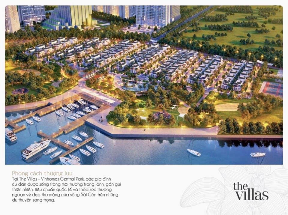 Bán biệt thự vinhomes central park tân cảng giá bao nhiêu?