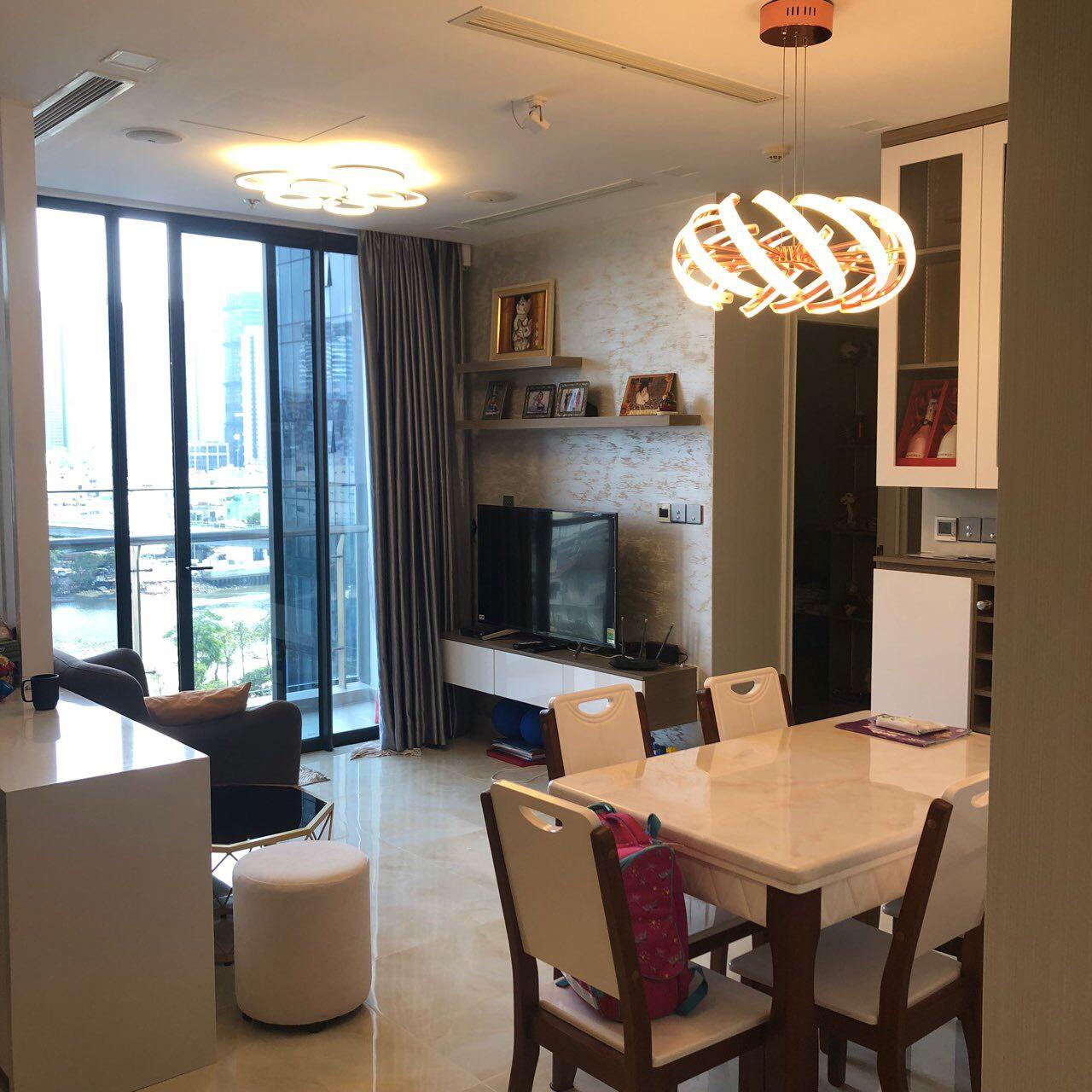 Cho thuê căn hộ Đảo Kim Cương 1 phòng ngủ giá chỉ từ 600 USD/tháng