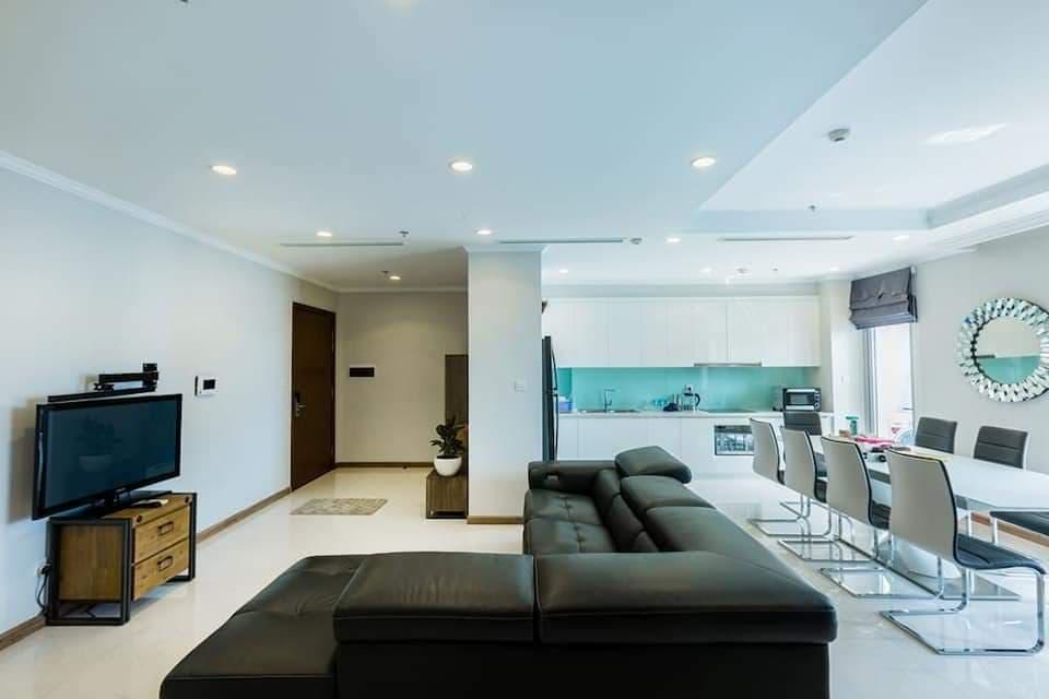Cho thuê căn hộ Sala tòa tháp Sarica 2 phòng ngủ quận 2 giá tốt nhất