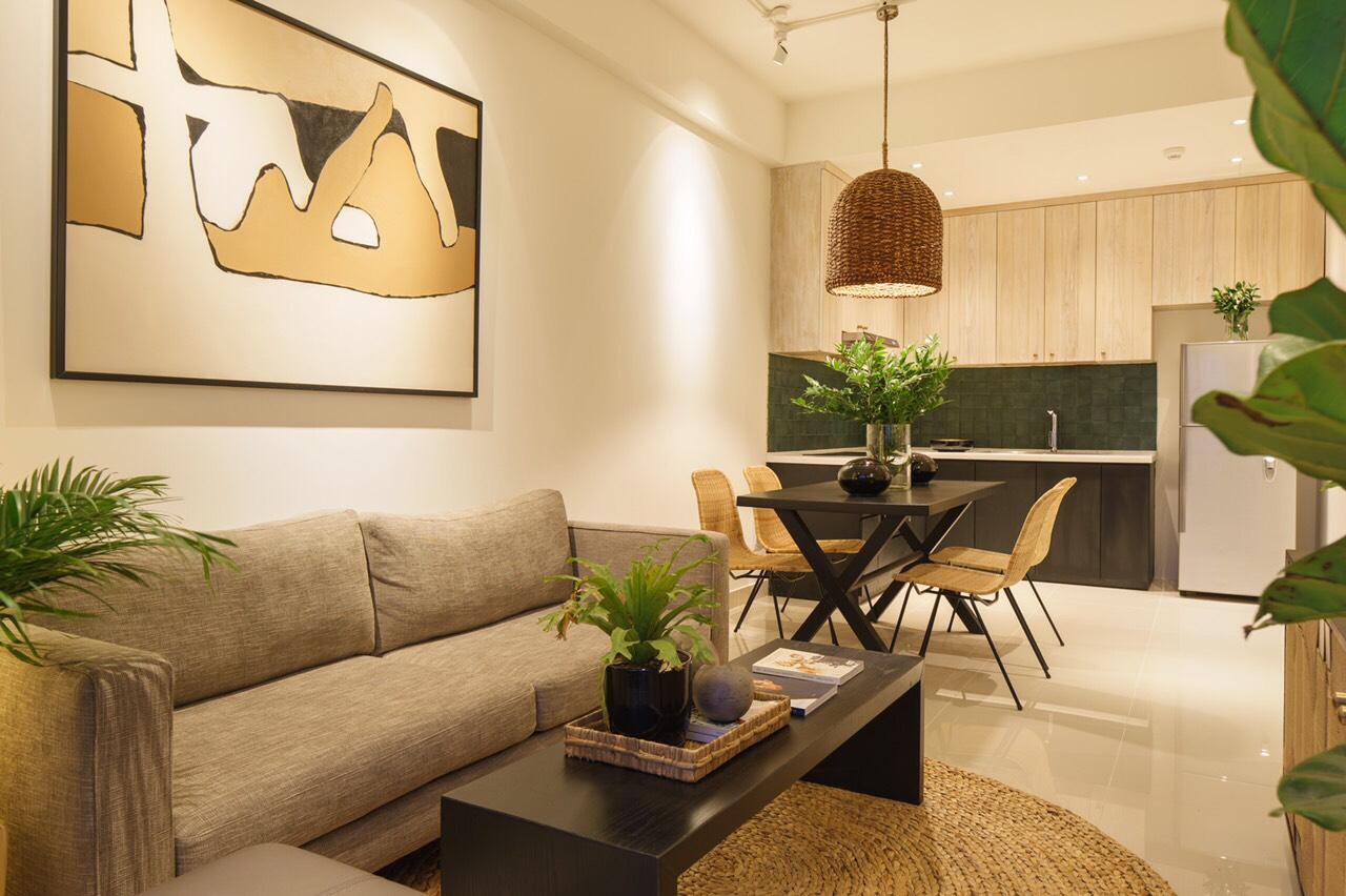 Cho thuê căn hộ 1 phòng ngủ The Sun Avenue nhà trống chỉ 10 triệu