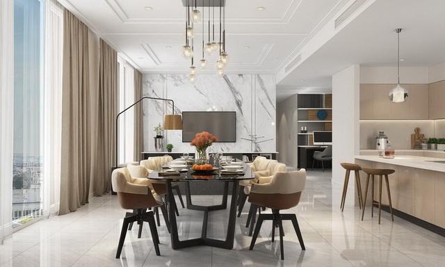 Cho thuê căn hộ chung cư Sài Gòn Royal của Novaland giá tốt quận 4