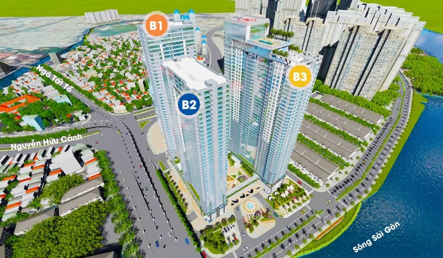 Chuyển nhượng căn hộ Sunwah Pearl Quận Bình Thạnh giá tốt nhất thị trường.