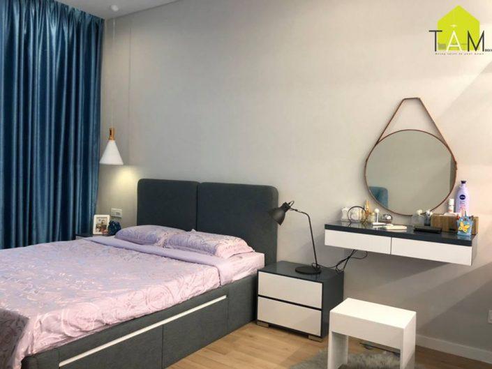 Cho thuê căn hộ Sarica thủ thiêm 2 phòng ngủ giá chỉ từ 1200USD/tháng