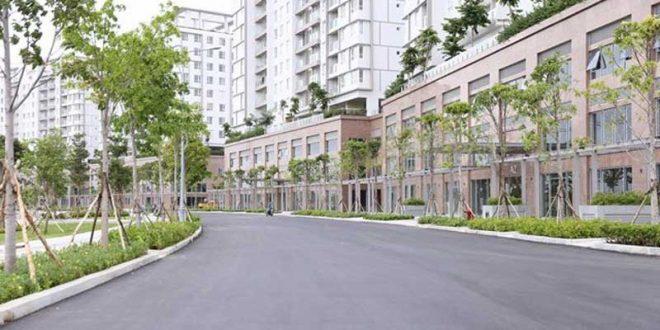 Cho thuê Shophouse Sala quận 2 giá 3000USD diện tích sử dụng 500m2
